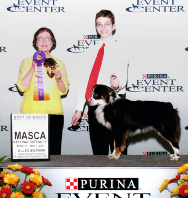 Tucker wins Best of Breed
